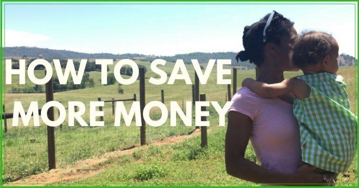 How Do I Save Money?